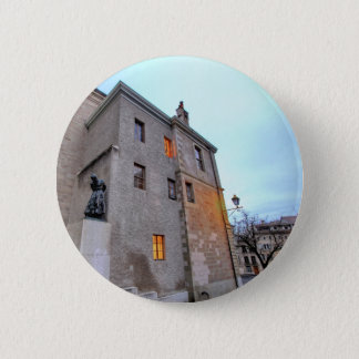 Old Town of Geneva 2 Inch Round Button