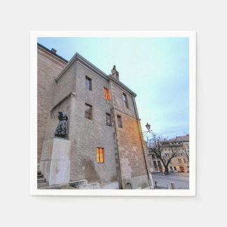 Old Town of Geneva Disposable Napkins