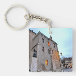 Old Town of Geneva Keychain