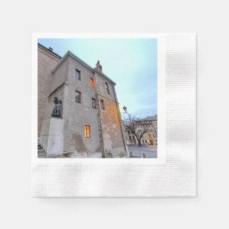 Old Town of Geneva Paper Napkins