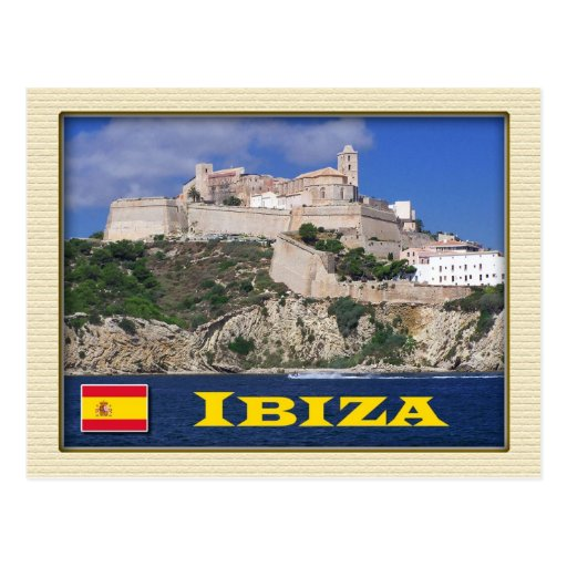 Old Town of Ibiza, Balearic Islands, Spain Postcard