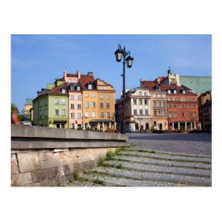 Old Town of Warsaw Postcard