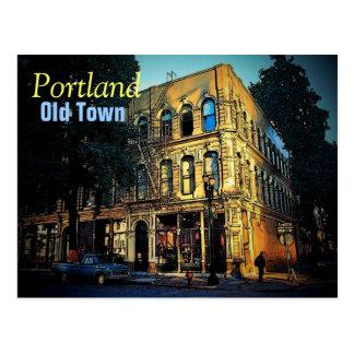 Old Town Portland Postcard