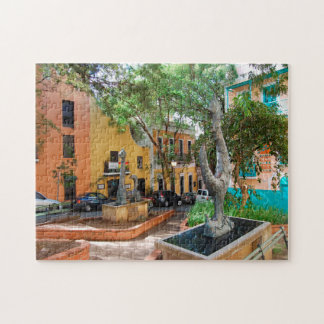 Old Town Puerto Rico. Jigsaw Puzzle