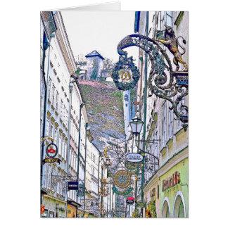 old town - Salzburg Card