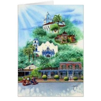 OLD TOWN, SAN DIEGO CARD