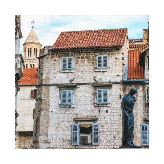 Old town, Split, Croatia Canvas Print