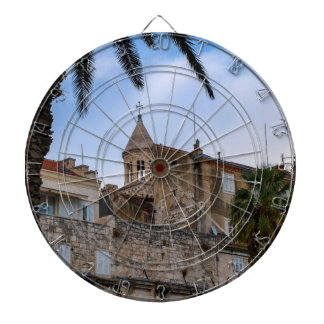 Old town, Split, Croatia Dartboard