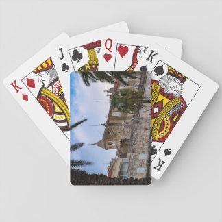 Old town, Split, Croatia Poker Deck
