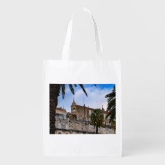 Old town, Split, Croatia Reusable Grocery Bag