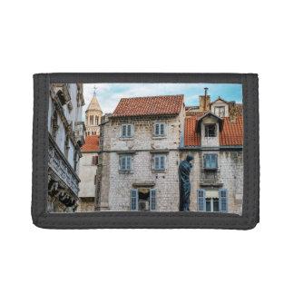 Old town, Split, Croatia Tri-fold Wallets