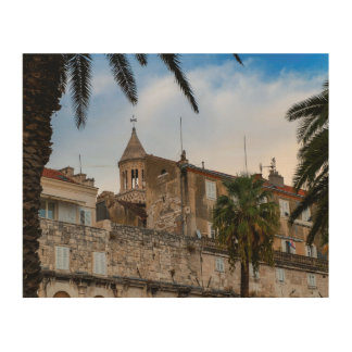 Old town, Split, Croatia Wood Wall Art