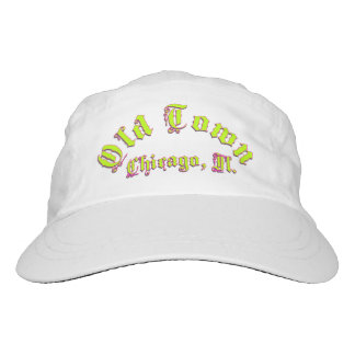 Old Town Sports Woven Performance Hat, White Headsweats Hat
