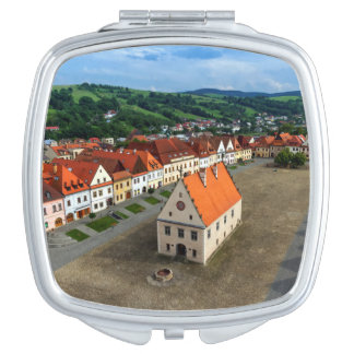 Old town square in Bardejov by day, Slovakia Travel Mirror