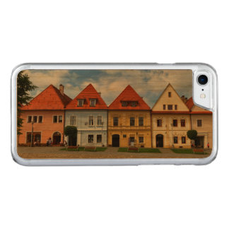 Old town square in Bardejov, Slovakia Carved iPhone 8/7 Case