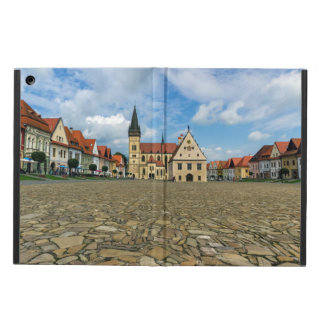 Old town square in Bardejov, Slovakia Case For iPad Air