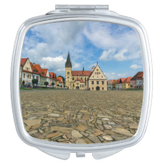 Old town square in Bardejov, Slovakia Compact Mirrors