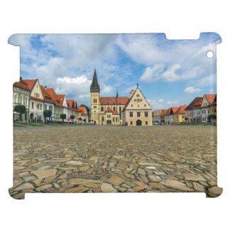 Old town square in Bardejov, Slovakia Cover For The iPad 2 3 4