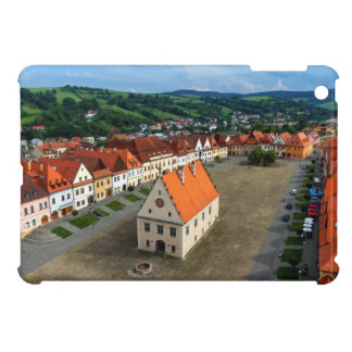 Old town square in Bardejov, Slovakia Cover For The iPad Mini