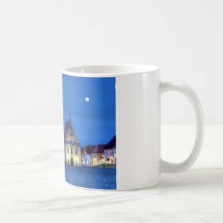 Old town square in Bardejov, Slovakia,HDR Coffee Mug