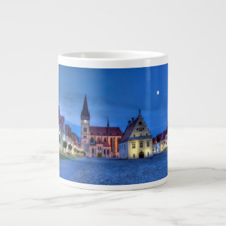 Old town square in Bardejov, Slovakia,HDR Giant Coffee Mug
