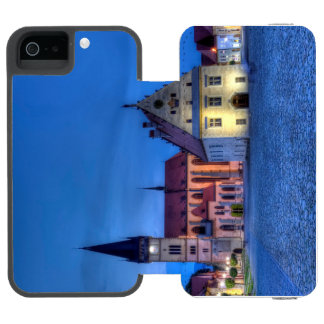 Old town square in Bardejov, Slovakia,HDR Incipio Watson™ iPhone 5 Wallet Case