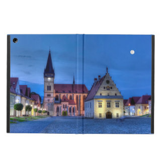 Old town square in Bardejov, Slovakia,HDR iPad Air Cover