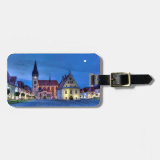Old town square in Bardejov, Slovakia,HDR Luggage Tag