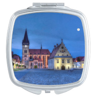 Old town square in Bardejov, Slovakia,HDR Travel Mirror