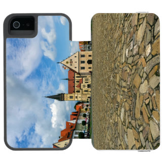 Old town square in Bardejov, Slovakia Incipio Watson™ iPhone 5 Wallet Case