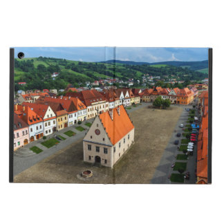 Old town square in Bardejov, Slovakia iPad Air Cover