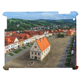 Old town square in Bardejov, Slovakia iPad Cases