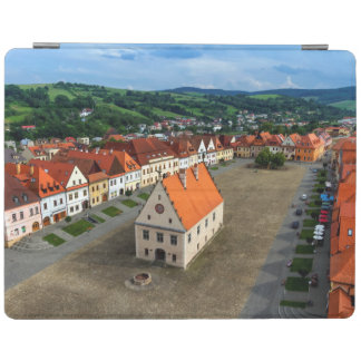 Old town square in Bardejov, Slovakia iPad Cover