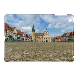 Old town square in Bardejov, Slovakia iPad Mini Cover
