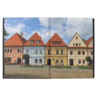 "Old town square in Bardejov, Slovakia iPad Pro 12.9"" Case"