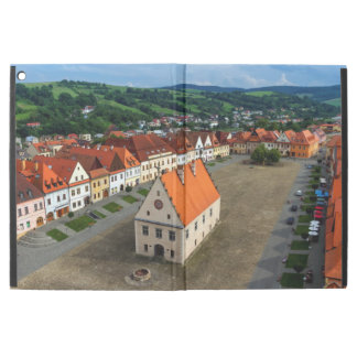 "Old town square in Bardejov, Slovakia iPad Pro 12.9"" Case"