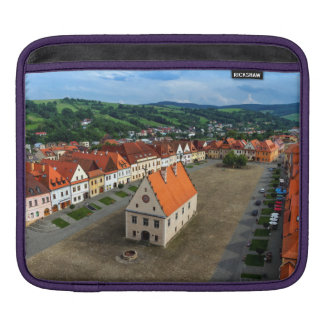 Old town square in Bardejov, Slovakia iPad Sleeve