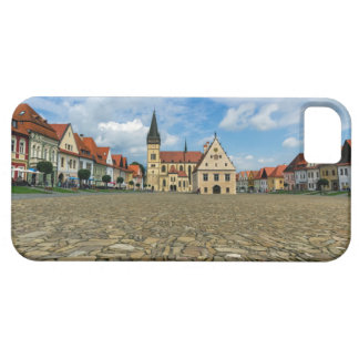 Old town square in Bardejov, Slovakia iPhone 5 Case