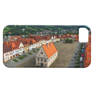 Old town square in Bardejov, Slovakia iPhone 5 Cases