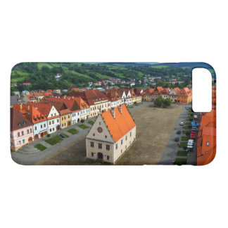 Old town square in Bardejov, Slovakia iPhone 7 Plus Case