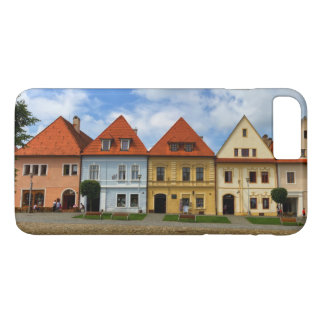Old town square in Bardejov, Slovakia iPhone 8 Plus/7 Plus Case