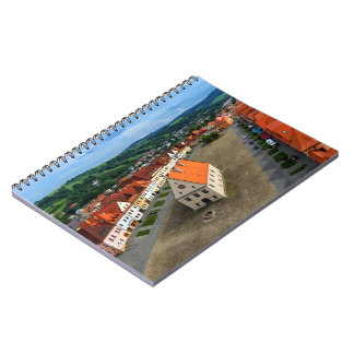 Old town square in Bardejov, Slovakia Notebooks
