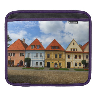 Old town square in Bardejov, Slovakia Sleeves For iPads
