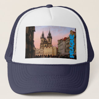 Old Town Square- Prague, Czech Republic Hat