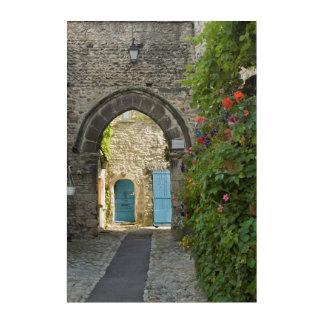Old Town Street, France Acrylic Wall Art