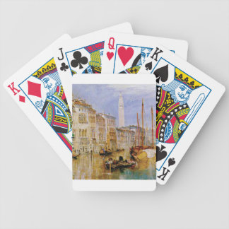old town Venice Bicycle Playing Cards
