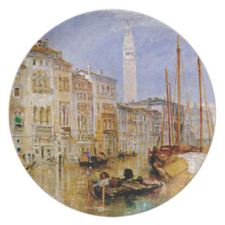 old town Venice Plate