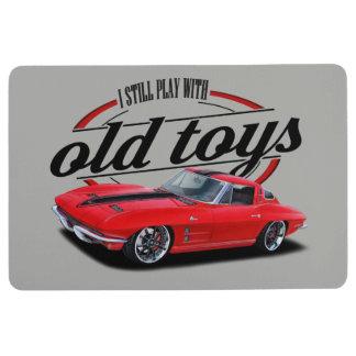 Old Toys Custom Vette Floor Mat