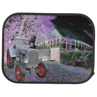 Old tractor car mat