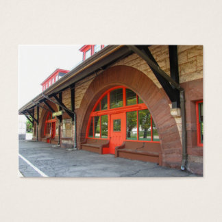 Old Train Station ~ ATC Business Card